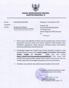 Surat IKM 2018